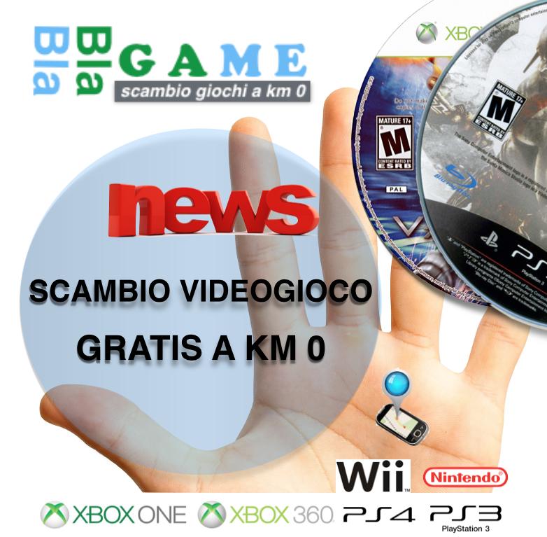Scambio Giochi Playstation Xbox Nintendo Wii su Bla Bla Game